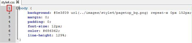 Fichier CSS